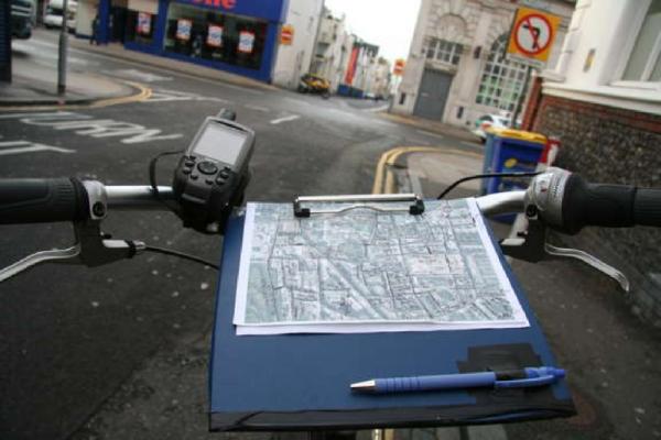 Rowerowe mapowanie.