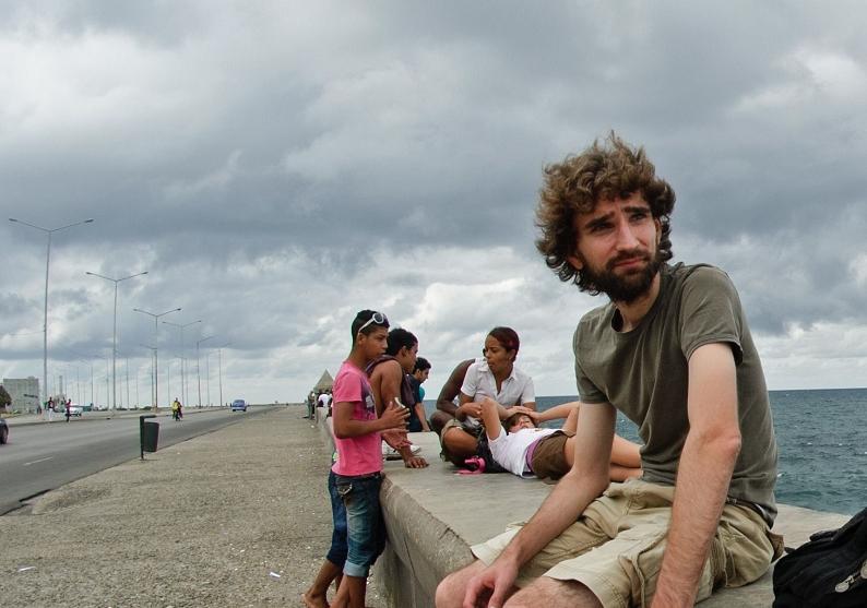 Piotr Tomza naMalecónie | fot.Gustaw Dudka
